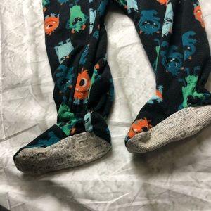 Carter's One Pieces - 18m Carter's monster sleeper pajamas footies
